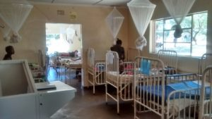 Pediatric ward at Macha