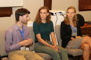 Harrison Horst, Sarah Longenecker, Michaela Mast