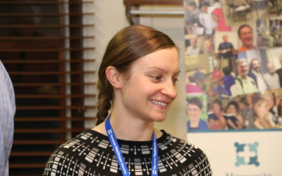 MHF Board Member Lyubov Slashcheva wins Prestigious EMU Young Alumni Award