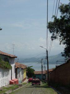 View of Lake Suchitlan, Suchitoto, El Salvador