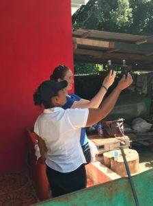 Testing water in El Salvador