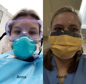 Anna Hershey and Kaedi Baer